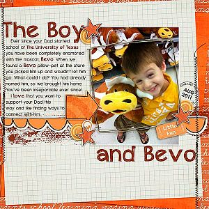 The Boy and Bevo