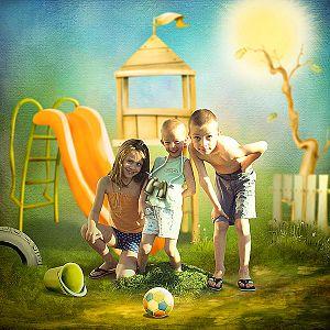 Summer playground