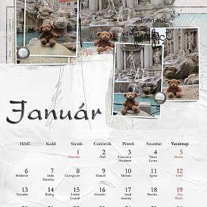 Januári naptár