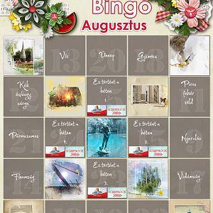 Augusztus - Bingó