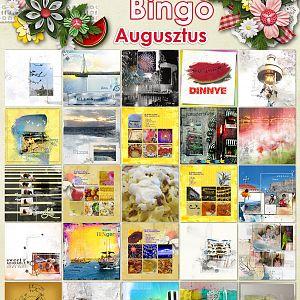 Bingó - augusztus - összes