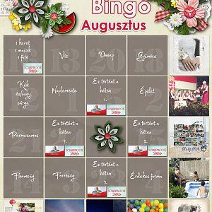 Augusztusi bingó