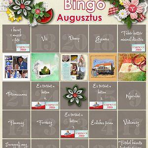 bingó augusztus