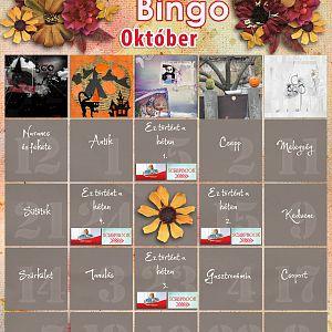 Bingó október - 5