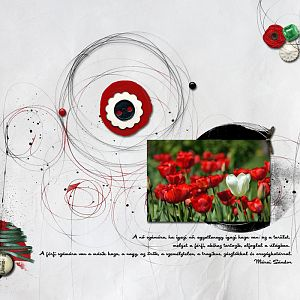 Piros fehér zöld