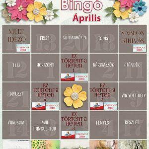 Bingó április - 5