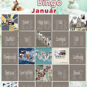 Januári 9-es bingo