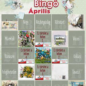 Bingó április - 9