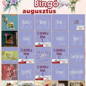 Bingó augusztus - 9