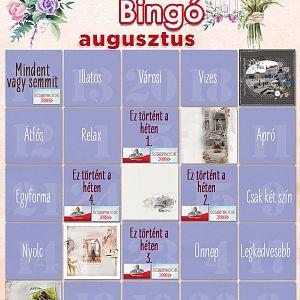Bingó augusztus - 5