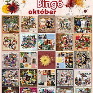 Októberi bingó