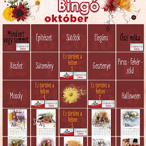 Bingó október - 9