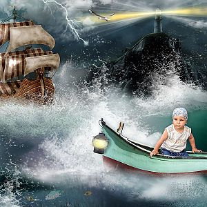 A kis hajótörött