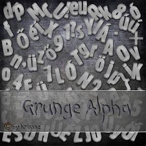 Grunge Alpha