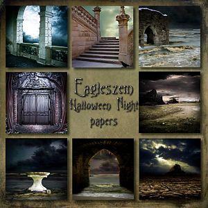 Halloween Night papers