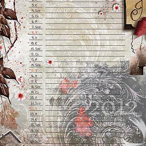 Art Journal naptár 2012