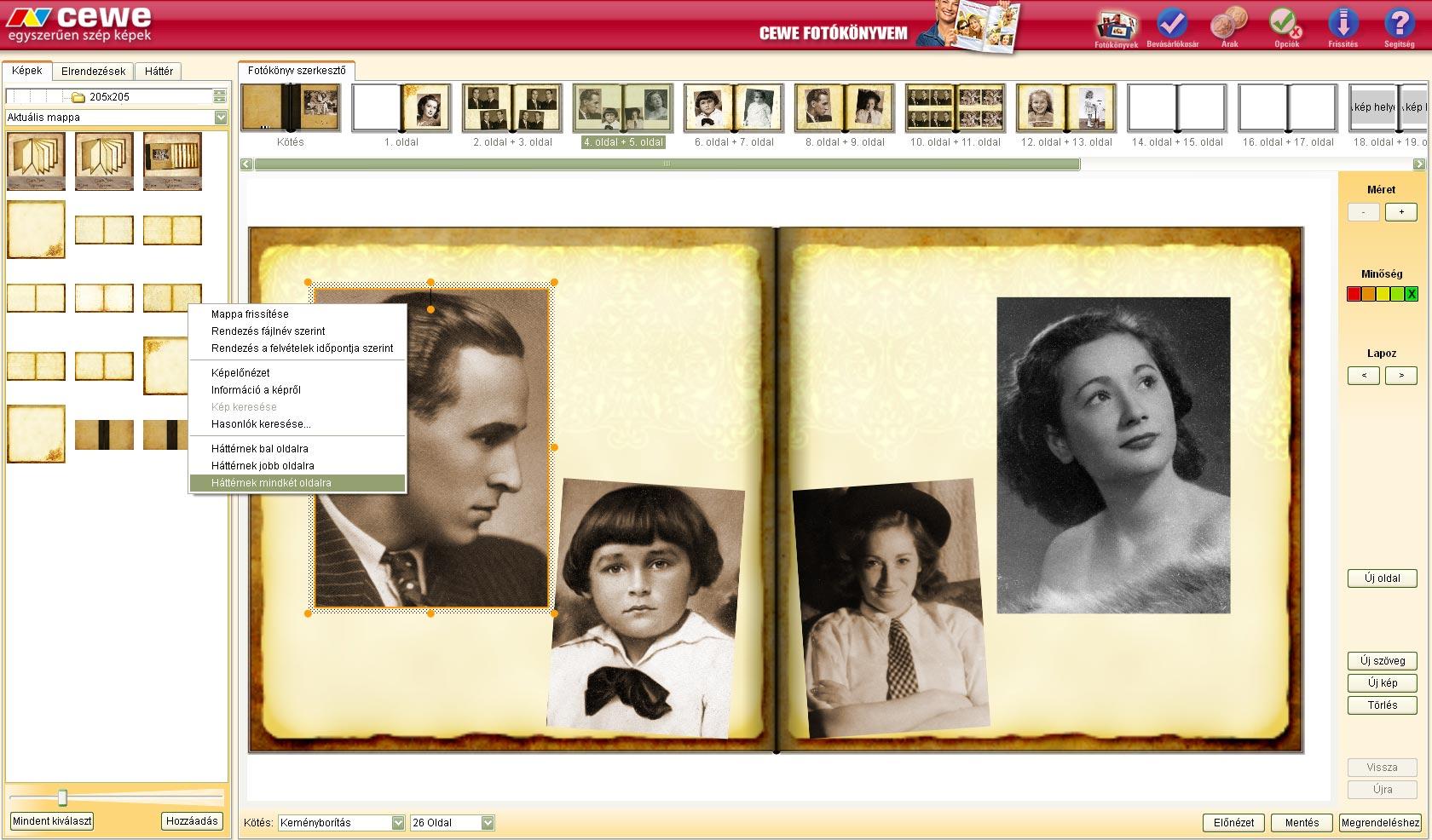 QuickBook avagy jó hír a képszerkesztő utálóknak