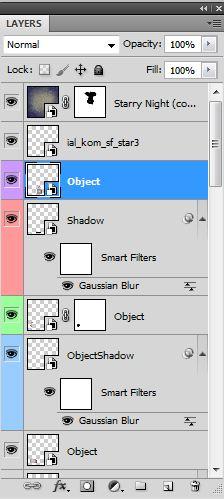 Photoshop réteg paletta
