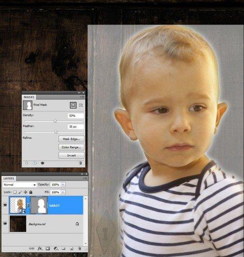 Photoshop maszk