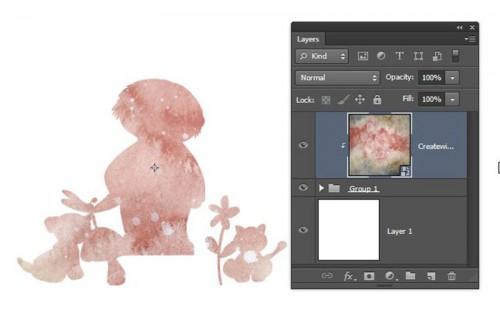 Photoshop CS6 multiple layers