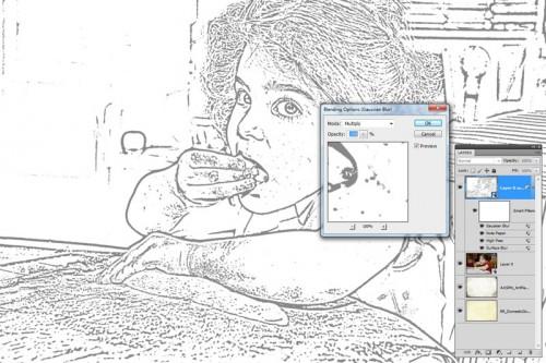 Photoshop Filter Blending