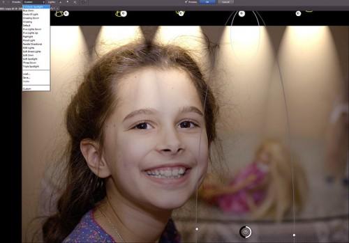 Photoshop CS6 Lighting Effects