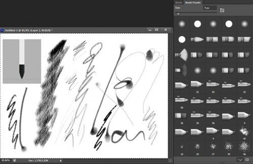 Photoshop CS6 brushes