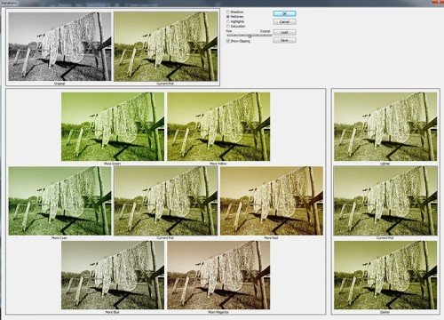 Photoshop Variations