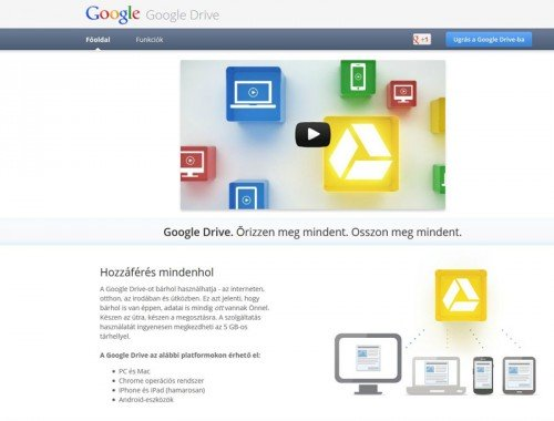 Google Drive Home