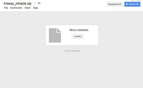 Google Drive saját meghajtó