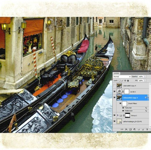 Photoshop Texturizer
