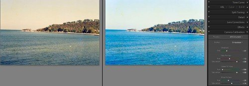 Lightroom 4 Camera Calibration