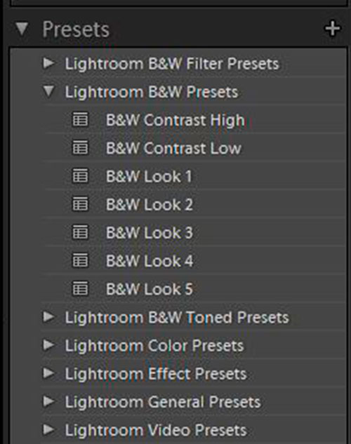 Lightroom 4 Presets