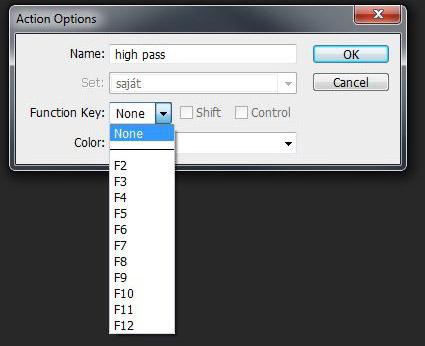 Photoshop Funkcion Key