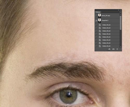 Photoshop portré retus