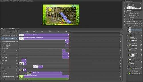 Photoshop videó szerkesztés