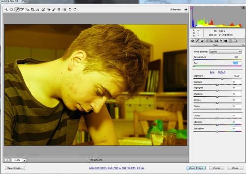 Photoshop szín korrekció