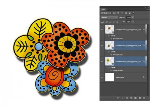 Photoshop Layer Groups