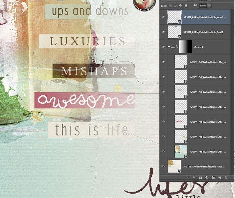 Photoshop a legelejétől – Layer Groups