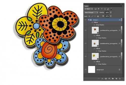 Photoshop Layer Groups