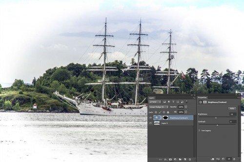 Photoshop vignettálás