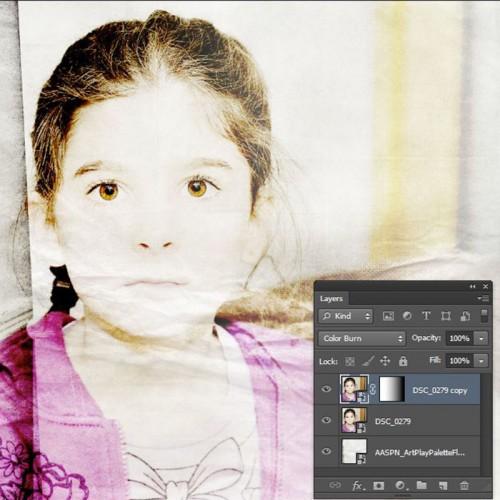 Photoshop gradient