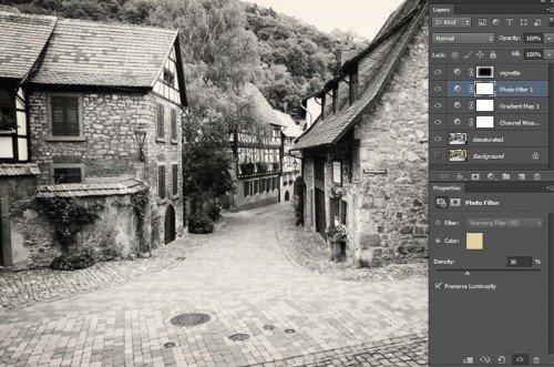 Photoshop fekete_fehér