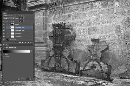 Photoshop fekete-fehér