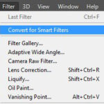 Photoshop CC Camera Raw filter