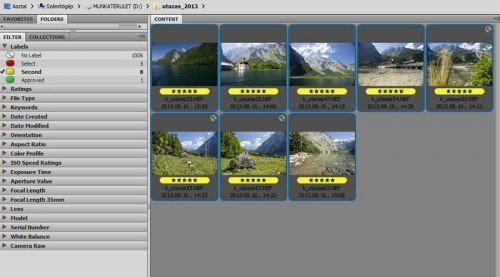 Adobe Bridge Labels