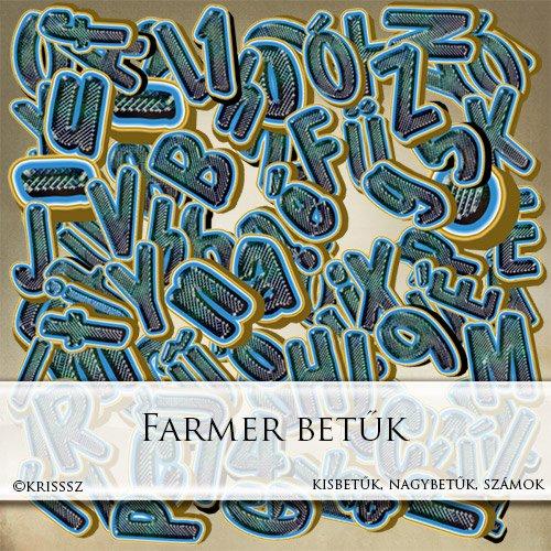 Farmer betűk