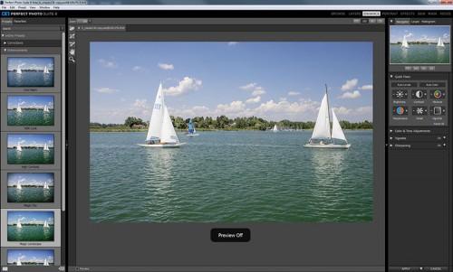 Perfect Photo Suite korrekció