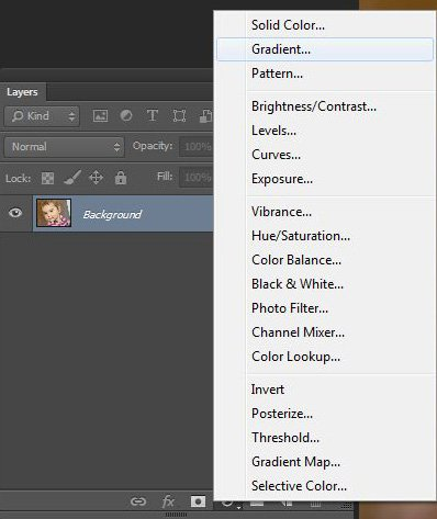 Photoshop korrekciós réteg