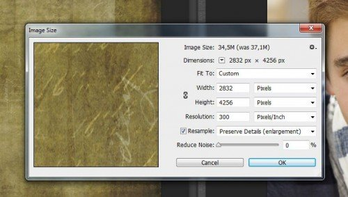Image size változás